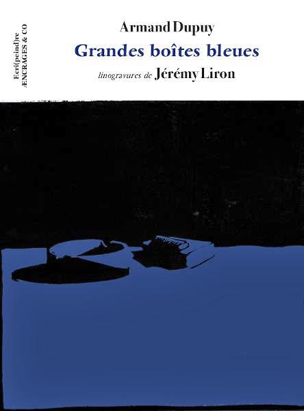 [Chronique] Armand Dupuy, Grandes boîtes bleues, par Carole Darricarrère